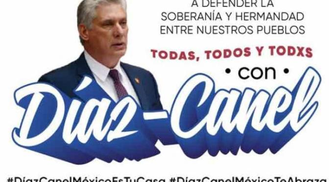 Visita de Díaz-Canel a México: Estocada a la indignidad
